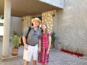 Son Samuel and Granddaughter Jessica in Haiti