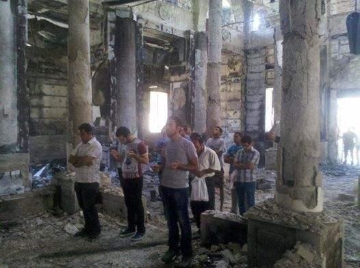 CopticChristiansPray